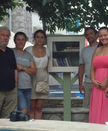 «Βιβλιόσπιτο» από τη Δημοτική Βιβλιοθήκη Κρανιδίου