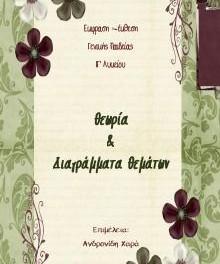 «Έκφραση – Έκθεση Γ'  Λυκείου: Θεωρία & Διαγράμματα Θεμάτων», Χαρά Ανδρονίδη. Δωρεάν βοήθημα, Εκδόσεις schooltime.gr