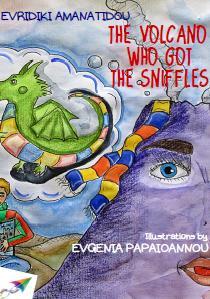 «The volcano who got the sniffles»,Evridiki Amanatidou. Δωρεάν e-book, γλώσσα: αγγλικά
