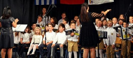 «Oι παιδικές χορωδίες Ελλάδας - Τουρκίας μαζί!» της Έφης Ρουμελιώτη