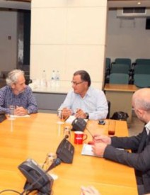 Με τo ανανεωμένo Δ.Σ. του Ελληνικού Κέντρου Κινηματογράφου συναντήθηκε ο Υπουργός Πολιτισμού και Αθλητισμού