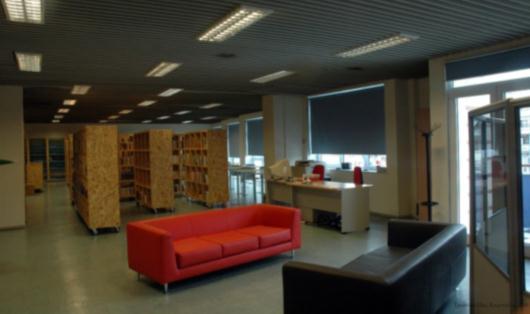 Η βιβλιοθήκη Σταυρούπολης