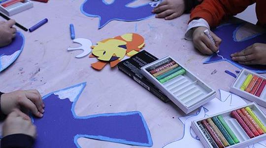 Mαθήματα εικαστικών για παιδιά, στο Μουσείο Ηρακλειδών