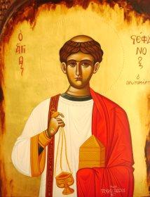 Ο Πρωτομάρτυρας Στέφανος: Βίος, υμνολογία, αγιογράφηση