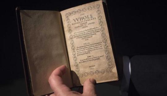 «14,2 εκατ. δολάρια για το πρώτο βιβλίο που τυπώθηκε στις ΗΠΑ» της Έφης Ρουμελιώτη