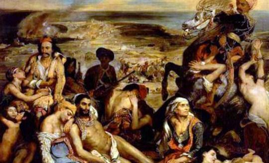 «Η Χίος μετά την καταστροφή της» της Γιώτας Ιωακειμίδου