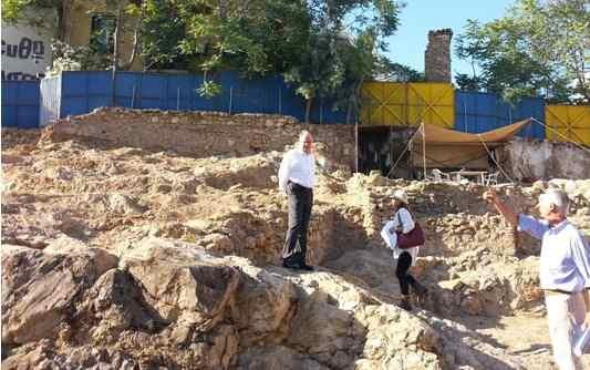 Tην ανασκαφή στο Μετς επισκέφτηκε Ο Υπουργός Πολιτισμού και Αθλητισμο