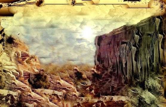 «Καπηλευτές του Θείου Λόγου» του Θανάση Πάνου. Fhoto: Απόσπασμα από πίνακα του Θανάση Πάνου