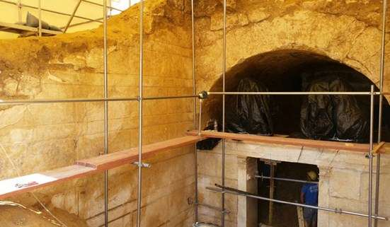 Συνεχίζονται οι ανασκαφικές εργασίες στον λόφο Καστά, στην Αμφίπολη