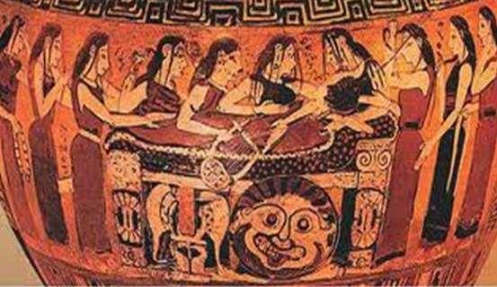 H ταφή και η καύση των νεκρών στην αρχαιότητα