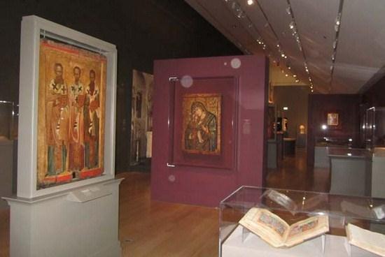 «Ουρανός και Γη. Η τέχνη του Βυζαντίου από Ελληνικές Συλλογές» έκθεση στο Art Institute του Chicago