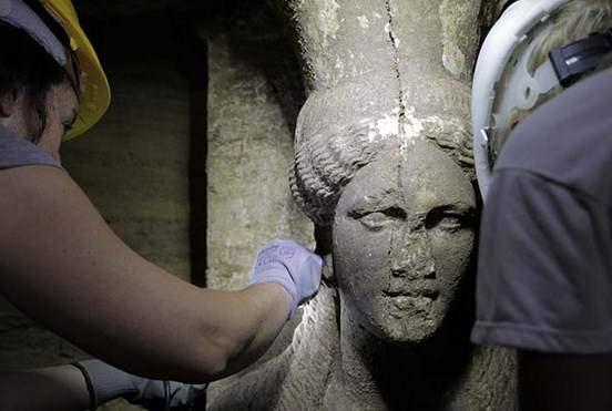 Αμφίπολη: Νέα στοιχεία από τις ανασκαφές στον τύμβο Καστά