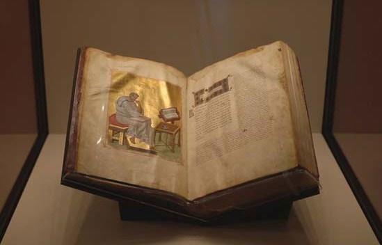 Επαναπατρισμός βυζαντινού χειρογράφου (Μουσείο J. P. Getty) στην Ι. Μ. Διονυσίου Αγ. Όρους