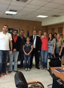Συνάντηση του Υφυπουργού Παιδείας και Θρησκευμάτων με το Σύλλογο Ελλήνων Ολυμπιονικών