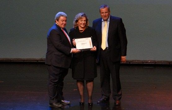 Το ΙΚΥ τιμήθηκε με βραβείο επιχειρηματικής αριστείας