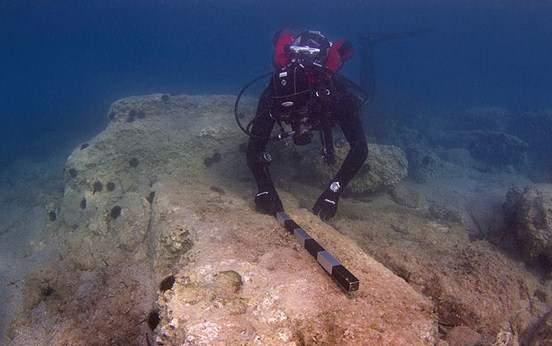 Αρχαιολογική έρευνα στο αρχαίο λιμάνι του Λεχαίου