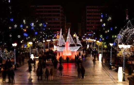 Αθήνα: Αλλαγές εκδηλώσεων Παραμονή Πρωτοχρονιάς λόγω καιρικών συνθηκών
