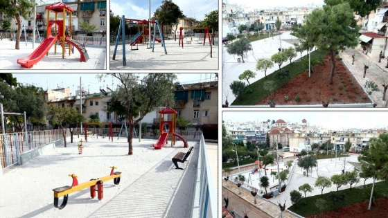 Δύο νέες πλατείες στα Μανιάτικα και την Παλαιά Κοκκινιά εγκαινιάζει ο Δήμος Πειραιά