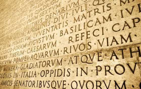 Κατάλοιπα της Λατινικής στη γλώσσα μας