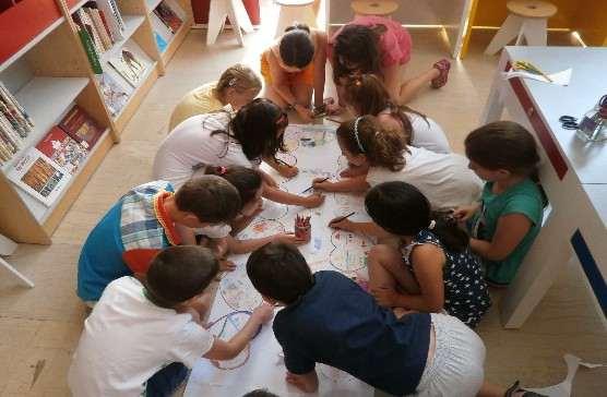 Δράσεις για παιδιά στην Περιφερειακή Βιβλιοθήκη Χαριλάου (Μάιος 2015)