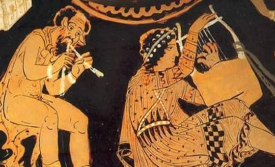 «Αρχαιότητα και μουσική» διάλεξη στο Ιρλανδικό Ινστιτούτο Ελληνικών Σπουδών