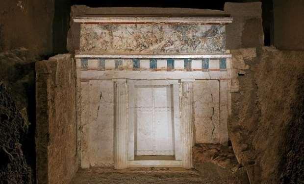 Ανασκαφικά και ιστορικά δεδομένα για τον τάφο τού Φιλίππου Β'