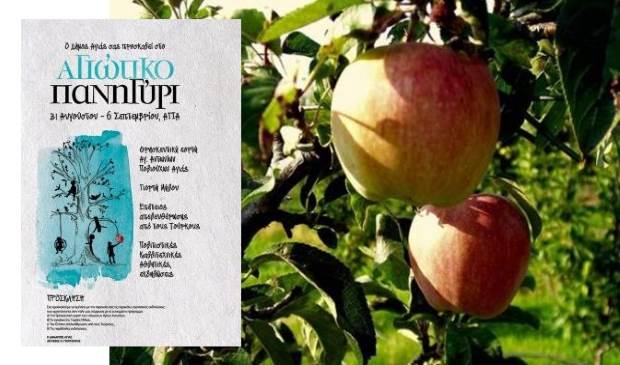«20η Γιορτή Μήλου-Αγιώτικο Πανηγύρι» στην Αγιά Λάρισας, 31/8-6/9 2015