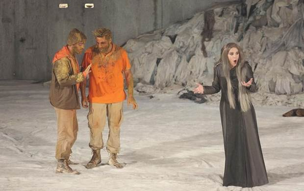 «Η Ιφιγένεια στη χώρα των Ταύρων» από το ΚΘΒΕ, Τετάρτη 26 Αυγούστου στο Aρχαίο Θέατρο Φιλίππων