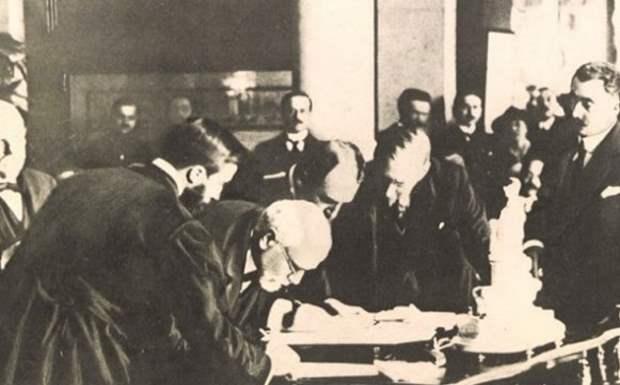 «Η συνθήκη των Σεβρών και οι όροι της» της Αντιγόνης Καρύτσα