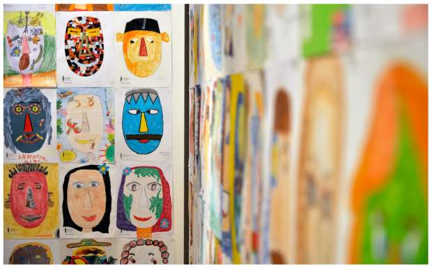 «5000 ζωγραφιές, ένα κυκλαδικό κεφάλι» έκθεση παιδικής ζωγραφικής στο ΜΚΤ