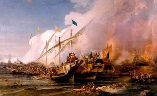 «Η ναυμαχία της Πρέβεζας» της Αντιγόνης Καρύτσα