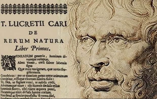 Lucretius, Titus Carus, «De rerum natura» (Για την φύση των πραγμάτων), της Ελευθερίας Μπέλμπα