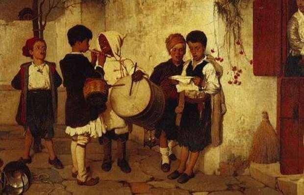 «Τα έθιμα της Πρωτοχρονιάς και το καλαντόνερο» της Γιώτας Ιωακειμίδου