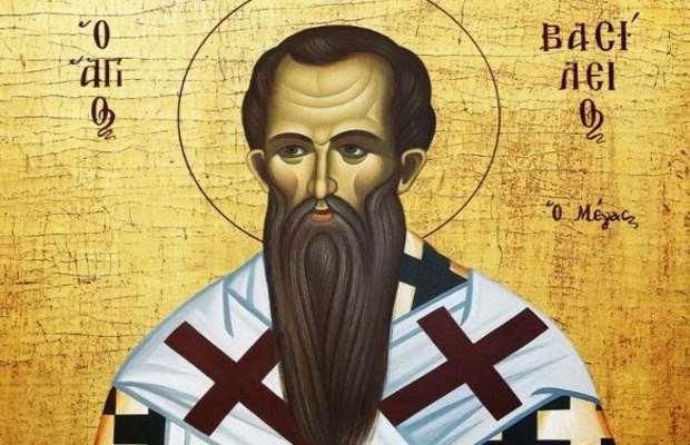 O βίος του Αγίου Βασιλείου (330 – 1 Ιανουαρίου 379)