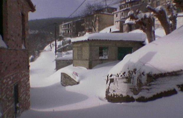Χιονοπτώσεις-Παγετός: Οδηγίες από τη Γενική Γραμματεία Πολιτικής Προστασίας