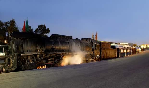 Secret Railway-Stories: Ξεναγήσεις στο Τρένο στο Ρουφ