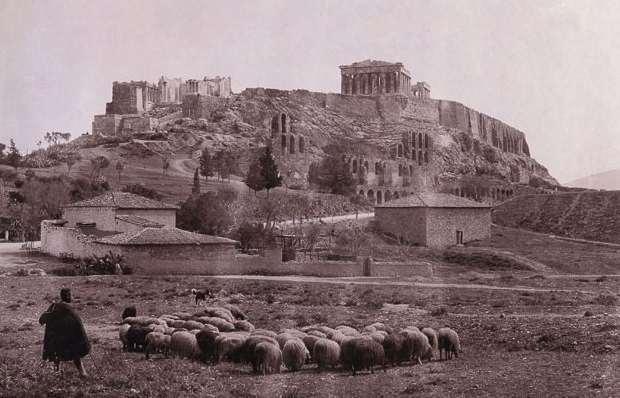 Έκθεση Φωτογραφίας: Άνθρωποι στα υπέροχα ερείπια των Αθηνών, από τον 19ο στον 20ό αιώνα