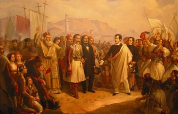 Ο Λόρδος Βύρωνας και η ελληνική επανάσταση