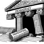 «Δημοκρατία στο απόσπασμα…» του Γιώργου Μέρκατα