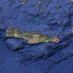 Σεισμική Δόνηση 5.5 Ρίχτερ στη Νότια Κρήτη