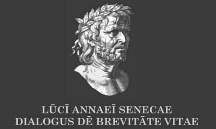 Lucius Anneus Seneca «De brevitate vitae (περί της συντομίας της ζωής)» της Ελευθερίας Μπέλμπα