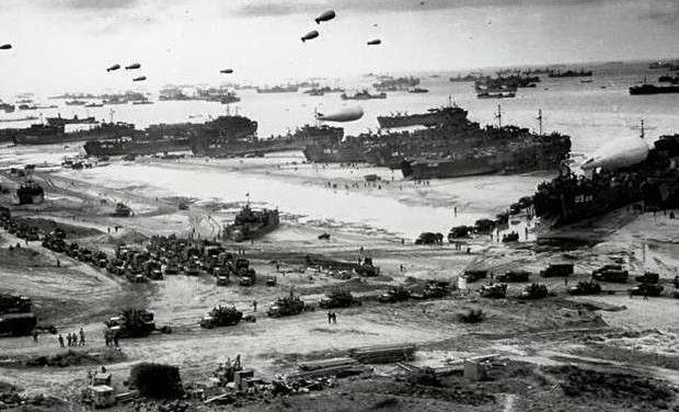 «Η απόβαση στη Νορμανδία – 6 Ιουνίου 1944» της Αντιγόνης Καρύτσα