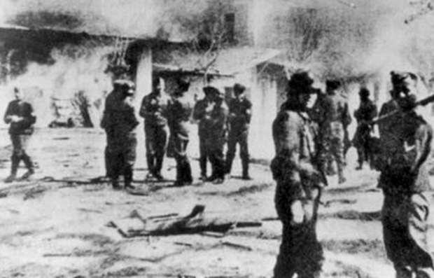 Η σφαγή του Διστόμου - 10 Ιουνίου 1944