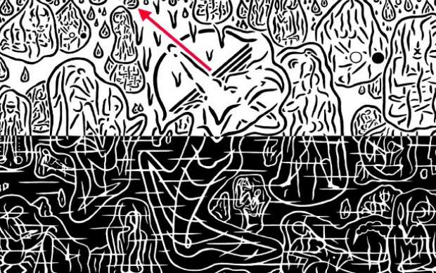 «cosmos unbaptized» έκθεση του εικαστικού καλλιτέχνη KREUZ στη Dépôt Art Gallery