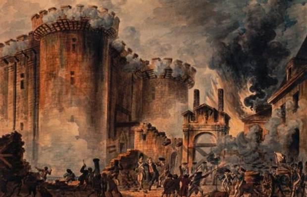 «Η πτώση της Βαστίλης – 14 Ιουλίου 1789» της Αντιγόνης Καρύτσα