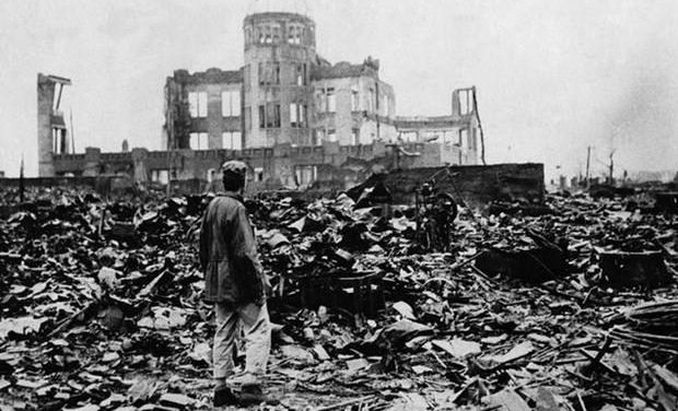 «Η ρίψη της ατομικής βόμβας στη Χιροσίμα – 6 Αυγούστου 1945» της Αντιγόνης Καρύτσα