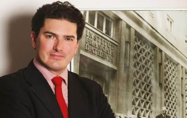 Ο Olivier Descotes Ειδικός Σύμβουλος του Υπουργού Πολιτισμού και Αθλητισμού