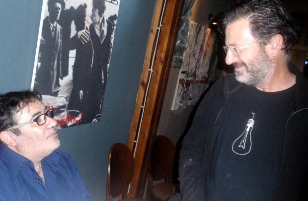 Ο Συγγραφέας με τον Θανάση Παπακωνσταντίνου