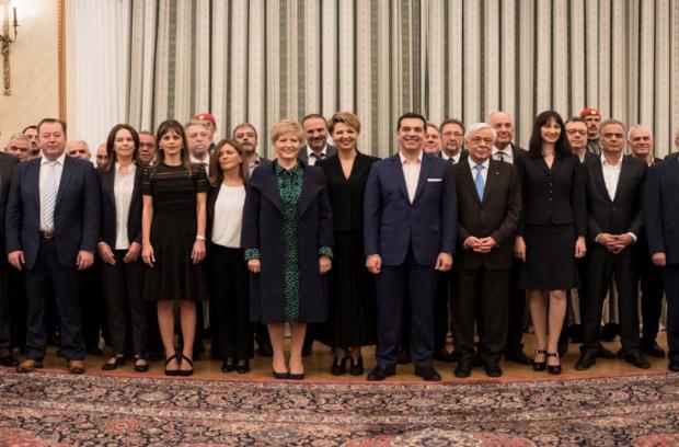 Ορκίστηκαν τα νέα μέλη της Κυβέρνησης – Αναλυτικά η σύνθεση
