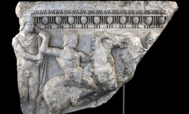 Επαναπατρίζεται τμήμα σαρκοφάγου των ρωμαϊκών χρόνων